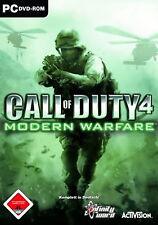 PC Computer Spiel ***** Call of Duty 4 Modern Warfare * COD 4 ***********NEU*NEW