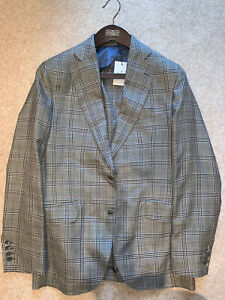 Hackett Loro Piana Wool, Silk and Linen Blazer