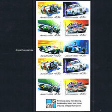 2002 - Motor Racing Australia - booklet of 10 - MNH