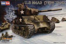 Hobby Boss 1:48 US M4A3 (76)W Tank Plastic Model Kit #84805