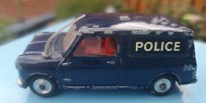 Vintage Corgi 448 Austin Mini Van Police 1964 - 1969