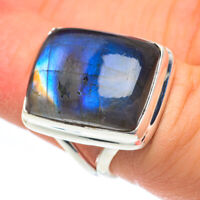 Labradorite 925 Sterling Silver Ring Size 6 Ana Co Jewelry R61729F