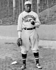 Chicago American Giants BILL FOSTER Glossy 8x10 Photo Negro League Poster HOF 96