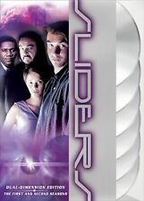 Sliders: Complete Seasons 1 & 2. Cross-Dimensional Sci-Fi TV. New In Shrink!