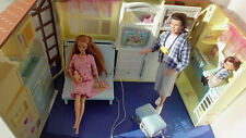 Vintage Barbie * HAPPY FAMILY HAUS * klappbar * viele Funktionen & HAPPY FAMILY