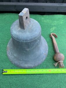Bronze Church Bell with clapper
