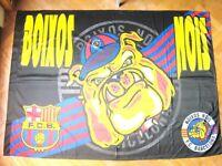 BANDERA FLAG BOIXOS NOIS FC BARCELONA 145x100 ULTRAS DRAPEAU SIN USO !!  NEGRA a83fca5f382