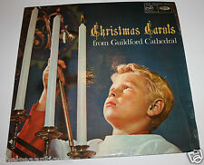 "1966 Christmas Carols from Guildford Cathedral Choir Vintage 12"" Vinyl LP Record"
