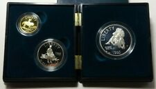 1995 Civil War Battlefield - Proof Gold and Silver 3-Coin Set