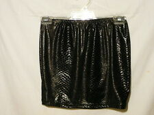 "SUPR'E GOLD/BLACK SNAKESKIN LOOK SKIRT, XX SMALL,  6 TO 8 AUZ  ""NWT"" RRP $22 C05"
