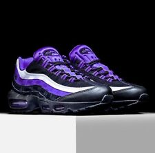 $160 Nike Air Max 95 Persian Violet 8.5 black jordan 3 retro OG 90 1 trainer BW