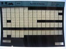 Kawasaki KZ440 1980 - 1981 Part Microfiche NOS k306