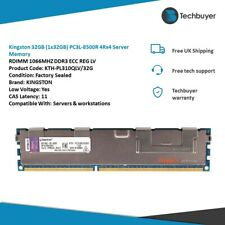 Kingston Kth-pl310qlv/32g 32 GB DIMM 240-pin Ddr3l Memory Module
