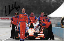 Charlie Kimball SIGNED Ganassi Racing Portrait Indycar 2015