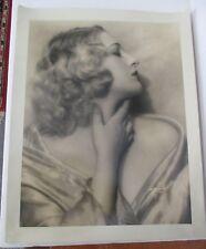 Vintage DeBarron Studio Photograph of Ziegfeld Girl, Actress MARY NOLAN ca 1930