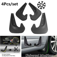 4Pcs Universal Car Mud Flaps Splash Guards Mudflaps Mudgurads Fender EVA Plastic