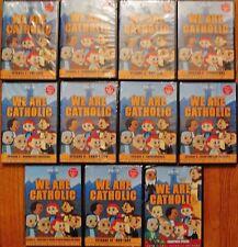WE ARE CATHOLIC COMPLETE CHILDREN SERIES 11-DVD SET: AN EWTN PRODUCTION.