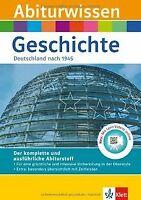 Abiturwissen Geschichte: Deutschland nach 1945. Mit Lern... | Buch | Zustand gut
