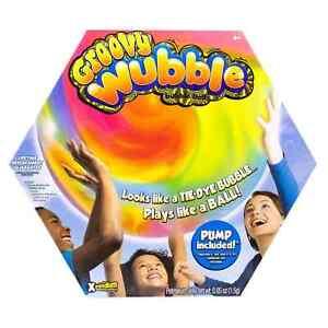 Groovy Tye-Dye XL Wubble Ball - Looks Like A Bubble, Plays Like A Ball BRAND NEW