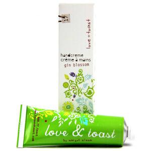 Love and Toast Gin Blossom Handcreme 1.25 oz. tube