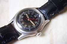 Reloj Pulsera era un Segunda Guerra Mundial Plata Entubado Rotary de Princeton C. temprano década de 1940