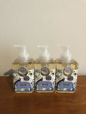 New Sealed Lot of 3 Michel Design Works Blue Foaming Hand Soaps 17.8 Oz Each