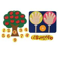 Montessori Lehrmittel Apfelbäume Math Toys Teaching Kindergartenhandbuch DI A7H1