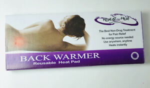 REPEAT THE HEAT BACK WARMER REUSABLE HEAT PAD NIB