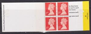 GB STAMPS 4 X 1ST CLASS MACHIN MISSING PHOSPHOR VERY RARE ERROR COLLECTION