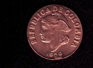 COLOMBIA 2 CENTS 1959