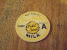 HOME DAIRY NEENAH WIS. MILK BOTTLE CAP   NEVER USED