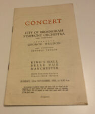 City Of Birmingham Symphony Orchestra - Kings Hall, Belle Vue, Manchester - 1950