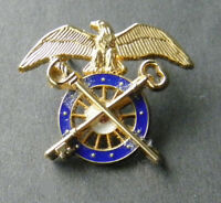 US ARMY OFFICER QUARTERMASTER LAPEL PIN BADGE 3/4 INCH