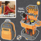 Kids Workbench Tool Set Bench Toddlers Toys Construction Portable Workshop