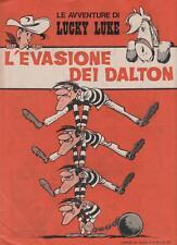 LUCKY LUKE - L' EVASIONE DEI DALTON   inserto CDP 1970