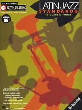 Jazz Play Along Latin Standards Clarinet Sax Saxophone Flute Woodwind Music Book