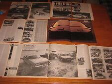Porsche 911, Ferrari 308, ritmo, Lancia Gamma, Mantra Simca Rancho, TVR, Sibilo