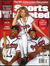 B.J. Justin Kate Upton 2013 Sports Illustrated No Label Braves Oct. 7 Ex Cond