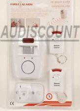 Kit Complet Alarme à capteur Infrarouge Passif sans fil Neuf 972