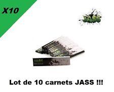 JASS Slim lot de 10 carnets de feuilles à rouler