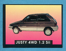 AUTO - Stickline - Figurina-Sticker n. 130 - SUBARU JUSTY 4WD 1.2 Sii -New