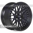 Circuit CP21 16x8 4-100 +25 Flat Black Wheels Like AV-12 MT10 F01 531 92 Mesh