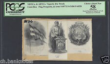 Australia Vignette Die Proof Woman Portrait Used On One Pound 1910 Pa108 Australia & Oceania Coins & Paper Money