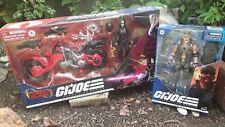 Target GI Joe Classified Baroness Cobra Coil Motorcycle Figure & Gung Ho .01cent