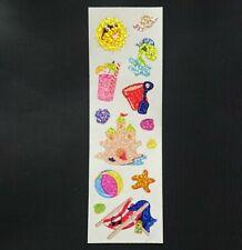 Stickeralbum Sticker Vintage 90er Sandylion Glitzer Prismatic Stripe Urlaub