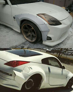 Nissan Fairlady 350Z Z33 Star Dust Style Front and Rear Wide GT Fenders