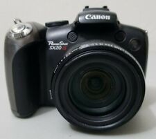 Canon PowerShot SX20 IS 12.1MP Digital Camera - Works doesn't recognize SD card