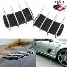 Auto Air Net Decal Sticker For Car Door Hood Side Flow Vent Fender Intake Grille