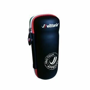 Vittoria Bike Cycling Zip Case - Bottle Cage Tool Bag in Black