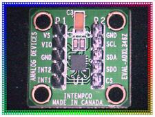 ADXL346Z, Accelerometer Sensor Evaluation Board 3-Axis (±2g, 4g, 8g, 16g) Qty 1^